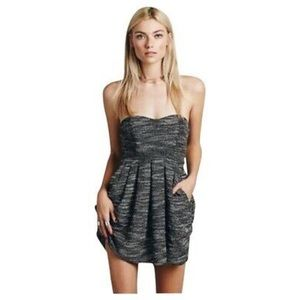 Free People Nyima Strapless Dress Size 10 | 11120